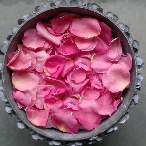 Rosé petals