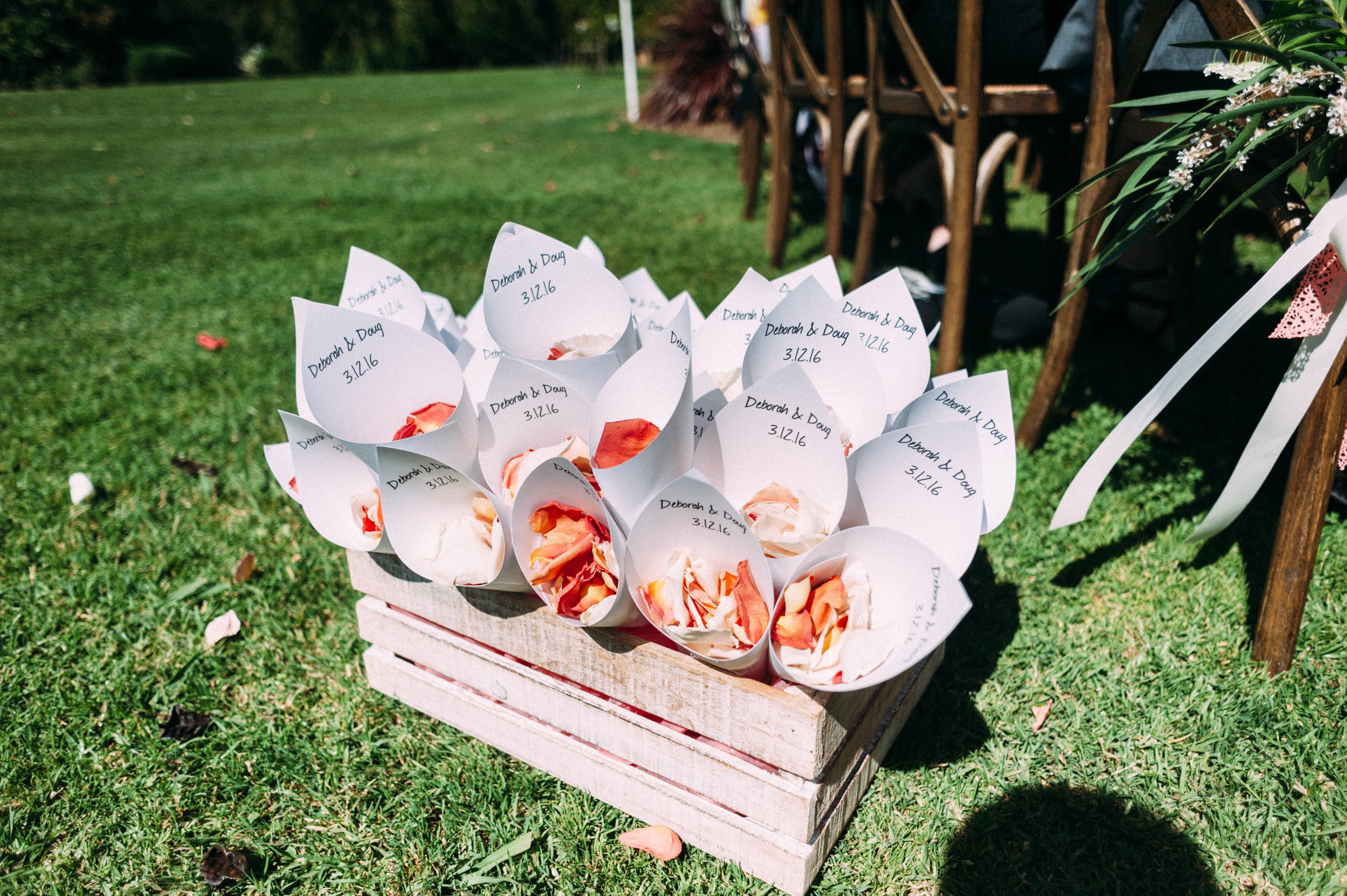 Petal Cones by Church Confetti