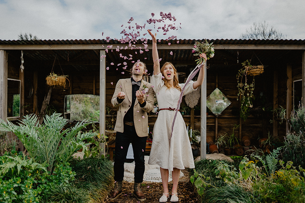 eco wedding confetti